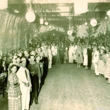 Festa Junina na ABCRS em 25 de junho de 1949.
