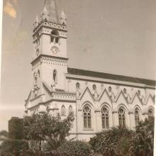 Igreja Matriz de N. S. Aparecida, década de 1970.