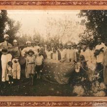Festa de Bumba Meu Boi na Fazenda Vassoural. Anos 1900.