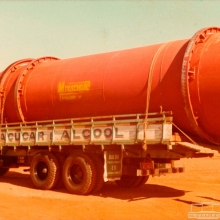 Secador de açúcar construído pela empresa M. Paschoal, em 1986.