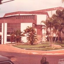 Fachada do Teatro Municipal em 1989.