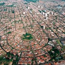 Vista aérea do Bairro Shangri-lá