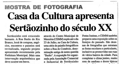 Jornal Agora Sertãozinho e Região 26 e 27 jun 2010