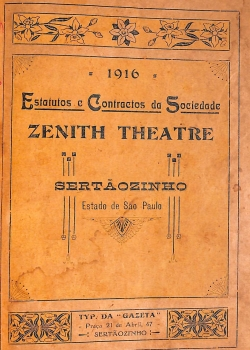 Estatutos e Contractos da Sociedade Zenith Theatre