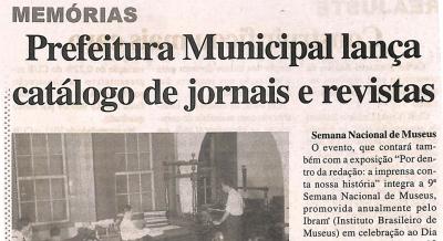 Jornal Agora Sertãozinho e Região - 14 mai 2011