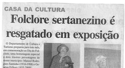 Jornal Agora Sertãozinho e Região 22 e 23 ago 2009