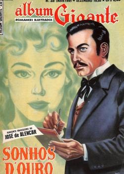 Álbum Gigante - Sonhos D'Ouro - José de Alencar