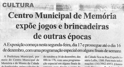Jornal Agora Sertãozinho e Região 15 out 2011