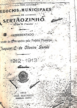 Negocios Municipaes - 1912-1913