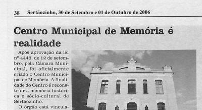 Jornal Momento Atual 30 set a 01 out 2006