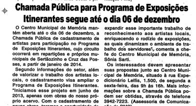 Jornal Momento Atual - 23 e 24 nov 2013