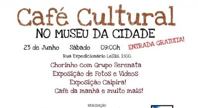 Café Cultural no Museu da Cidade