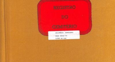 Registro Cemitério - 2010 a 2013