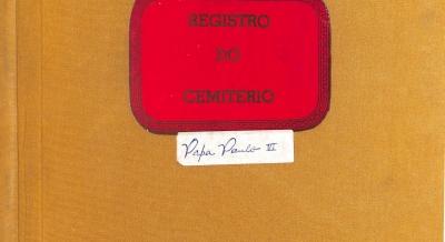 Registro Cemitério - 2005 a 2009