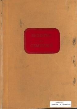 Registro Cemitério - 1999 a 2002