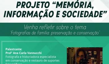"""""""Fotografias de família: Preservação e Conservação"""""""