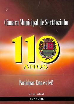 Câmara Municipal de Sertãozinho 110 anos