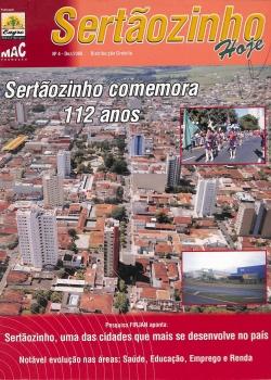 Revista Sertãozinho hoje dezembro 2008
