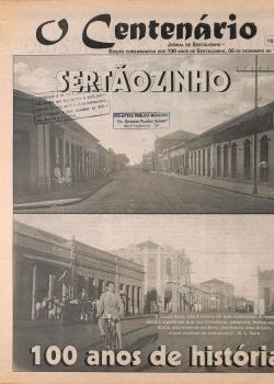 Jornal O centenário 1996