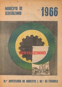 Jornal Múnicipio de Sertãozinho 70º aniversário 1966
